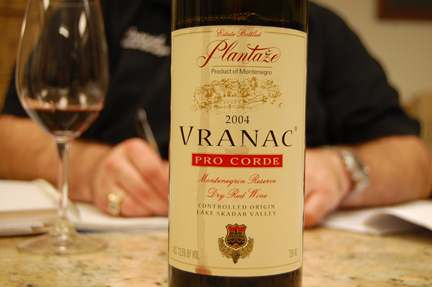 Монтенегро вино красное