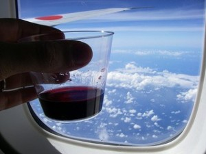plane-flight-wine-baby-travel